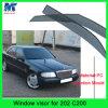De koele Deflector van de Wacht van de Zon van het Vizier van de Regen van de Auto van het Materiaal van de Auto voor Benz C200