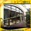 Guichet en aluminium et porte pour le transfert en bois de décoration d'hôtel