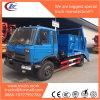 4X2 Dongfeng LHDの振動アームホックの上昇のごみ収集車