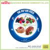Plaques mignonnes de mélamine de qualité de nutrition de catégorie comestible de gosses
