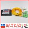 Sc/APC 연결관을%s 가진 상자 유형 3mm 섬유 광학적인 1*16 PLC 쪼개는 도구