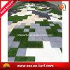 Prezzi artificiali del tappeto erboso di Interlcoking per zona d'abbellimento
