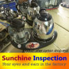 やかんTeapot Combo Final Random Inspection/Kitchen Appliances Quality ControlおよびTesting Services/Third Party Inspection Company
