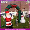 Arco gonfiabile caldo del pupazzo di neve della Santa per la decorazione di natale