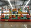 La gorila inflable de la ciudad de la diversión para el parque de atracciones se divierte juegos