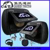 7  lettori DVD dell'automobile del poggiacapo con il pacchetto con il USB, deviazione standard, Fm, cuffia senza fili di IR (H708DD) dello schermo di monitor dell'affissione a cristalli liquidi di TFT DV/DV