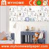 El papel puro decorativo embroma el papel pintado (C10101)