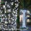 Luzes ao ar livre da corda do diodo emissor de luz da decoração do Natal profissional do fornecedor da fábrica