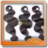 Produtos de cabelo humano malaios da tecelagem do corpo