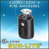 E17 Phenolic Lampholder (Spingere-nel terminale) E17c-#