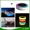 Outdoor IP68 Floating Solar RGB LED Light com Controle Remoto para Piscina