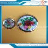 Espejo hermoso del cosmético del espejo del bolsillo de la flor de la venta al por mayor del regalo de la promoción