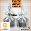 DC11-30V Philips Chips DEL Headlight H7 25W Super Slim Auto Headlight