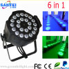 Acqua Proof 24PCS 6in1 LED Full Color PAR Light