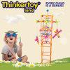 プラスチックおもちゃの子供の教育おもちゃによって着色されるブロック