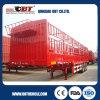 Acoplado del carro de la cerca del transporte de ganado de la marca de fábrica de Obt