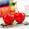 Buntes Crystal Glass Fruit Gift für Craft Decoration