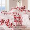 Taihuの雪のローズパターン100%絹の寝具セット
