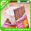 Coaster macio de borracha Placemat do PVC do chocolate novo da chegada