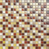 Bathroomのための4mm Crystal Glass Mosaic