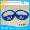 Wristband/bracelete impressos logotipo da tela RFID com Tk4100/Mf S50 para eventos