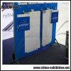 Облегченная алюминиевая будочка торговой выставки рамки ткани