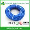Cable óptico RJ45 de la cuerda de remiendo de fibra