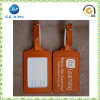 Europa Popular Leather variopinto Luggage Tag in Manufacturer Price (JP-LT031)