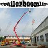 Platform van de Lift van de Boom van het Wapen van de Aanhangwagen van de Mens van de spin het Mobiele Vouwende