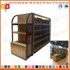 Shelving de madeira personalizado novo da loja do metal do supermercado (Zhs266)