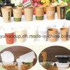 Tazas y envase disponibles de la tienda de delicatessen en venta