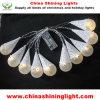 luces con pilas de la decoración del día de fiesta LED de la Navidad del 1m