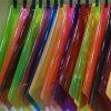 Feuille de plastique transparente rigide colorée de PVC