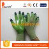 Нейлон Ddsafety 2017 зеленый с зеленой перчаткой нитрила