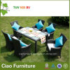 Svago Hotel Rattan Furniture Outdoor Wicker Dining Chair e Table