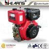 Het Begin van de Terugslag van de dieselmotor met de Rode Kleur van de Nokkenas (HR186FS)