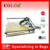 Sac transparent réutilisable de PVC avec la tirette (WB001)