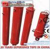 Одиночный действующий цилиндр высокого качества для используемых тележки сброса/Tipper
