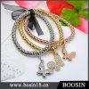 Золото ювелирных изделий способа/серебряный браслет #31477 металла пеньковой веревки