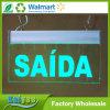 Lumière espagnole de signe d'incendie de Saida de lampes d'identification de DEL