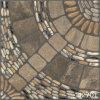 Azulejo de piso de piedra Cobbled porcelana de entarimado para el cuarto de baño del jardín (400X400m m)