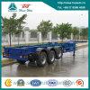 Sinotruk 3 차축 Gooseneck Container Semi Trailer