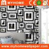 Photo Frame Pattern Paper Wallpaper pour Walls