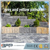 Honned Stone Palisade for Garden Ornament / Construction