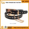 Plus défunt Design Buckles pour Elastic Belts avec Chains par Authentic Designer