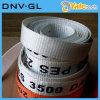 Polyester gesponnene Auspeitschung, das gewebte Material peitschend und peitschen Material-Brücken