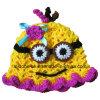 Упорка фотоего милого шлема детей младенца руки сыча Crocheted большая