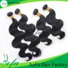 Menschenhaar-Extensions-Jungfrau-Brasilianer-Haar des Fabrik-Preis-7A