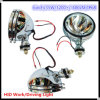 6  35W Silver Spotlight HID Work Light