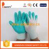 Голубой нейлон с черным нитрилом Glove-Dnn800